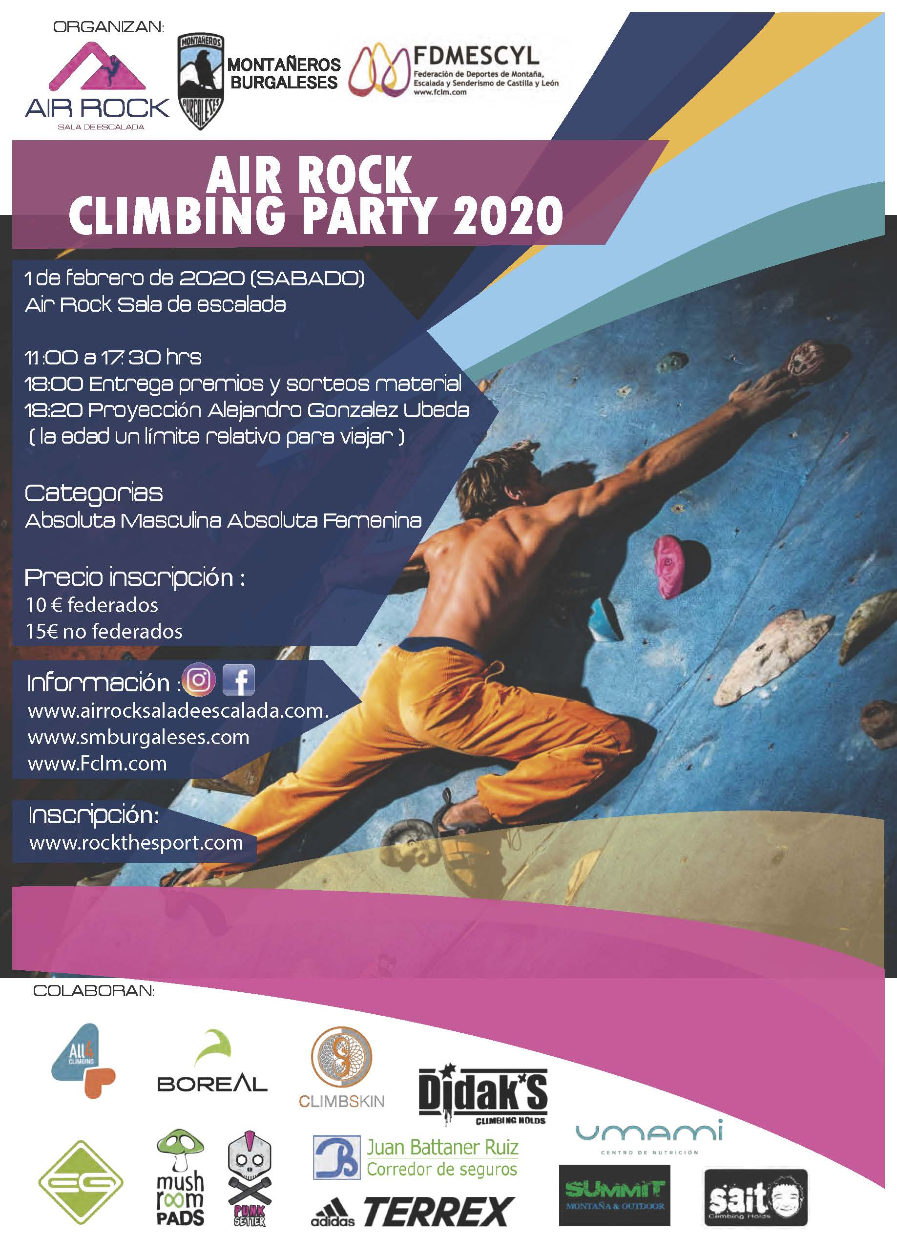Air Rock Climbing Party 2020